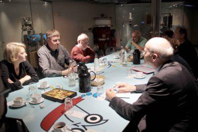 Die GRÜNE Kreistagsfraktion traf sich zu Gesprächen über die Zukunft des naturwissenschaftlichen Museums mit der Museumsleitung und Förderverein. Foto: A. Hauser