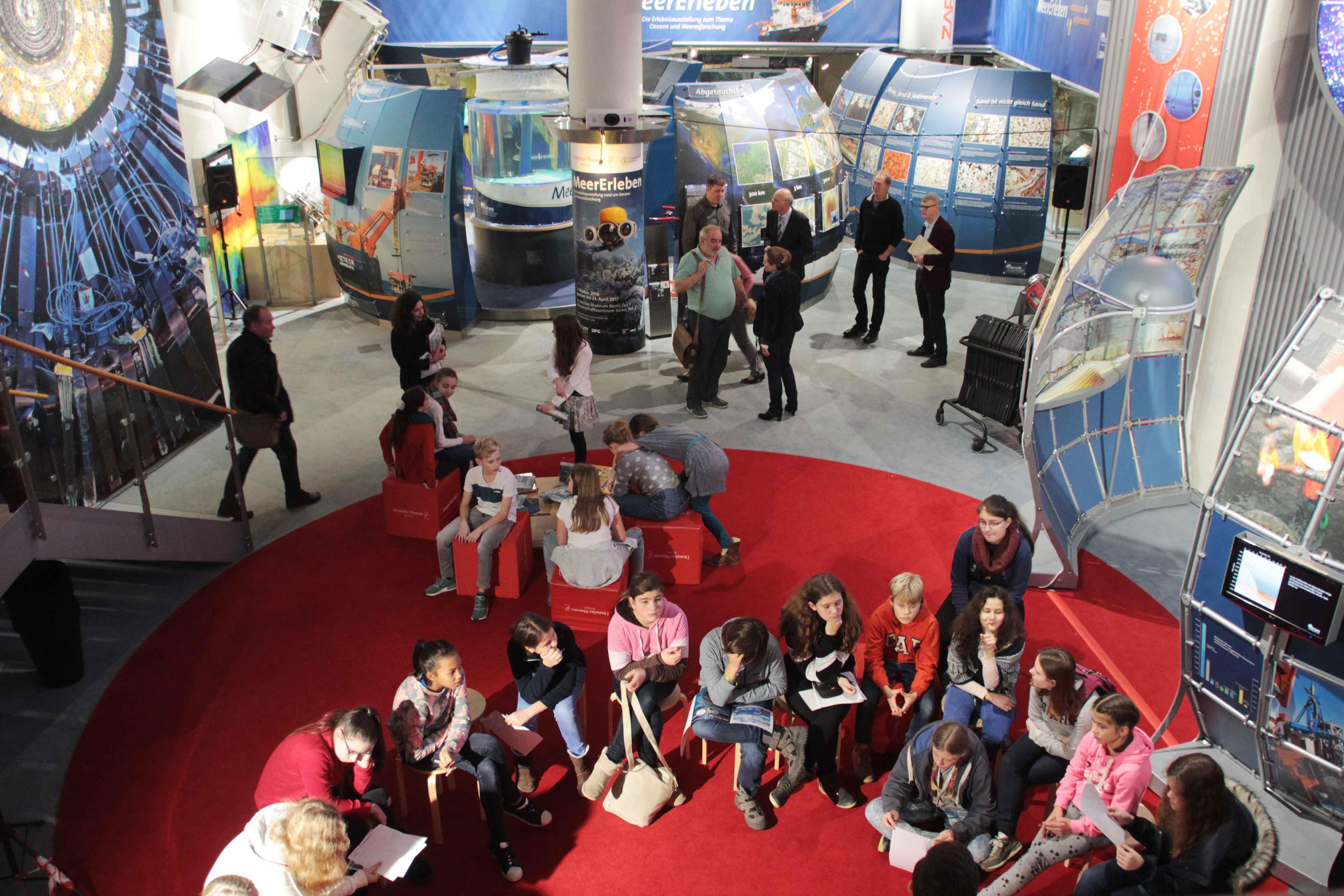 Ziel zahlreicher Schulklassen und privater Besucher aus dem Rhein-Sieg-Kreis: Deutsches Museum Bonn im Wissenschaftszentrum. Foto: A. Hauser